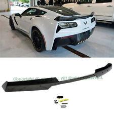 Fit 14-Up C7 Corvette Z06 Z07 Stage 2 ABS Painted Carbon Flash Rear Spoiler