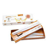 HORNET 120 Cones Classic King Size White Pre-Rolled Rolling Paper Cones 3 Packs