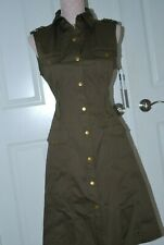 Calvin Klein Women's Military  Dress  Size 8