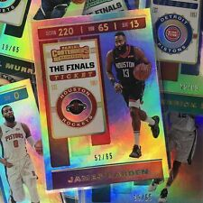2019-20 Contenders HASSAN WHITESIDE The Finals Ticket 50/65