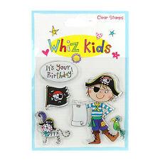 WIZZ Kid Clear Stamp Pirata Ideale per schede e Artigianato