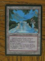 1x Rainbow Vale, MP Fallen Empires Reserved List Land EDH Commander Blim Synergy