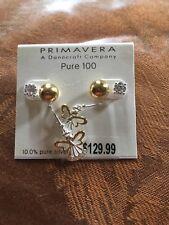 Silver Earrings Primavera 10%