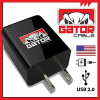 Home Wall USB 2.1A Fast AC Phone Charger Adapter for Samsung iPhone Android LG