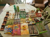 Asian Snack Box Japanese Korean Chinese (large packages) snake box