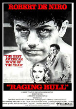 -A3-RAGING BULL 1980 Movie Film Cinema wall Home Posters Print Art - #21