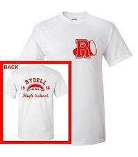 Rydell High T-Shirt Grease John Travolta T Bird Men 80s 50s 1956 Retro