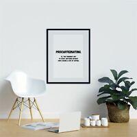 Procaffeinating. Kitchen Wall Prints Kitchen Prints Art Home Wall Art Print