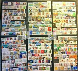 Germany Stamp Collection Used - 1000 Different Commemorative Stamps per Lot