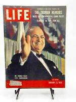 Life Magazine January 23 1956 The Truman Memoirs Volume II