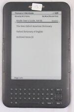 "Amazon Kindle Keyboard (3rd Generation) 4GB 6"" Wi-Fi + 3G"