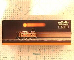 Märklin Marklin Mini club Z Scale 8851 SBB Ae 3/6 II 10460 Electric LocomotIve
