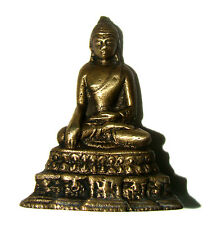 Attractive Old Brass made statue of Lord Buddha unique and rare idol from India