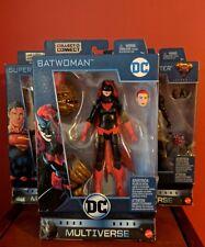 DC Multiverse BatWoman  Superman Martian Manhunter Wave 8 BAF CLAYFACE SET