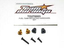 NEW Team Durango Fuel Tank Mounting Hardware Set DNX408 TD270003 1:8 Nitro 4WD
