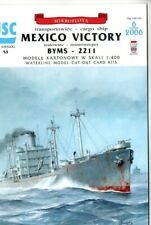 Card Model Kit – WW2 Victory Ship Mexico