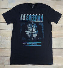ED SHEERAN Shape of You Officially Licensed Graphic SS Black T-Shirt Size M