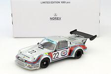 Porsche 911 carrera rsr 2.1 #22 2nd 24h 1974 Lemans Lennep, Müller 1:18 norev