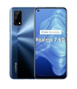 "Cellulare Smartphone Realme 7 5G Dual Sim 128GB+8GB 6.5"" Baltic Blue"