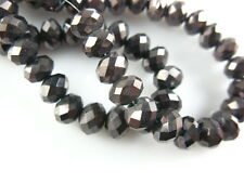 Vogue DIY Faceted Crystal Glass Rondelle Loose Spacer Beads 200Pc 3x2mm 52colors