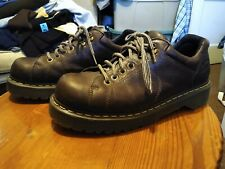 Dr Martens 10940 Chunky Brown Grizzly Leather 6 Eye Oxford Shoes Men's size 13 M