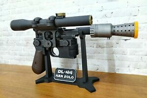 Han Solo Blaster DL-44 Star Wars prop cosplay