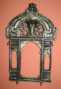 10'' Inches Long Brass Prabhavali Frame Wall Decoration Traditional Frame EK341