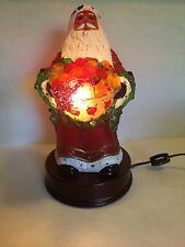 Old World Christmas Santa Light With Fruit Basket
