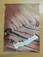 1954 BRITISH WIRE PRODUCTS LTD (STOURPORT-ON-SEVERN) COLOUR VINTAGE ADVERT