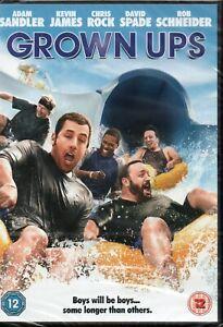 GROWN UPS - Adam Sandler, Kevin James - DVD *NEW & SEALED* *FREE UK P&P*