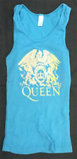 Queen Rare Dragonfly sz M/Os Xs Tank Top Orange/Yellow Blue Shirt Day at Races