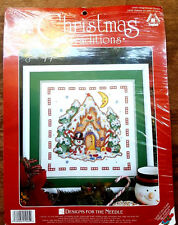 Designs For The Needle No.1945 Gingerbread House Cross Stitch Kit 12in x 12in