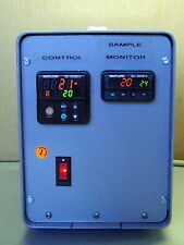 WATLOW DIGITAL EZ ZONE CONTROLLERS in CUSTOM LAB ENCLOSURE WITH 3 K thermocouple