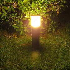 "3w/5w/7w LED Outdoor Acrylic Lawn Light E27 Bulb Landscape Stand Post Lamp Park 7w 60cm(23.62"") Warm White"