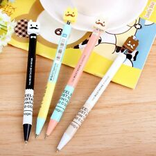 0.38mm Blue Cartoon Ballpoint Pen For Writing School Supplies Office Stationery