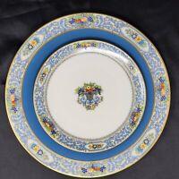 "RARE! 1923 Lenox AUTUMN & WESTCHESTER Dinner Plate 1830 X.76.F  w/ 7"" Plate"