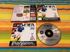 FIFA ROAD TO WORLD CUP 98 per PS1 - PLAYSTATION - COMPLETO! PAL - ITALIANO