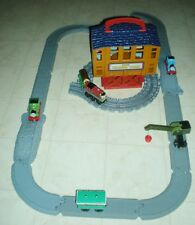Sodor Timer Yard Playset with Additional Tracks and Cars – 31 pieces