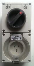 CLIPSAL PLUG 15 AMP 56C315 IP56 50HZ ELECTRICAL WIRING CIRCUIT SWITCHGEAR POWER