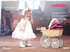 Märklin 16111, Heidi Ott Puppe mit Puppenwagen, MHI-Sonderserie, NEU, OVP