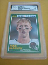 MIKE GLENNON BUCCANEERS 2013 SCORE 25TH ANNIVERSARY  ROOKIE RC # 409 GRADED 10