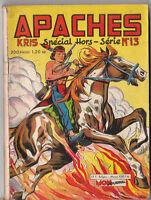 APACHES n°13 - Mon Journal 1962 - TBE
