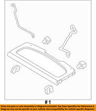 FORD OEM 11-18 Fiesta INTERIOR-REAR BODY-Package Tray Trim AE8Z5846668AB