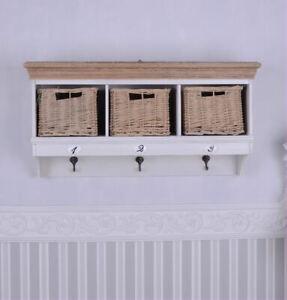 Wall Shelf Wall Mounted Basket Hand Towel Holder Towel Hook Wall Cabinet
