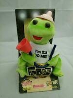 """Frogz Rock It Rap It Ribbit! Hip Hop Frog Dances Sings """"In Da Club"""" Do Me I'm 21"""