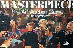 Replacement Parts MASTERPIECE Art Auction Game 1970 Parker Brothers YOUR CHOICE