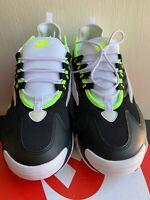 AO0269 004 Nike Zoom 2K CASUAL SCARPE NEROVOLT BIANCO TG 8 13 Nuovo con Scatola