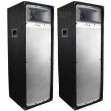 "2 Pack 12"" Studio Tower Speaker 2-Way Mtx Audio Cabinet Dual 200 W Rms Tp2400 Dj"