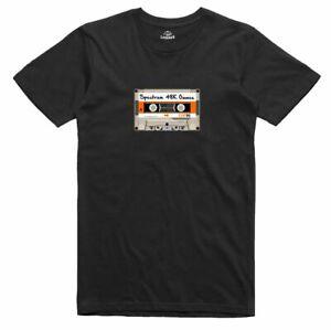 ZX Spectrum 48k School Boy Pirate C90 Cassette Games Retro T Shirt
