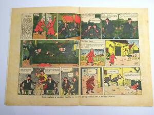 RARE 1941 TINTIN First Color Appearance O PAPAGAIO BD Portuguese Magazine #304